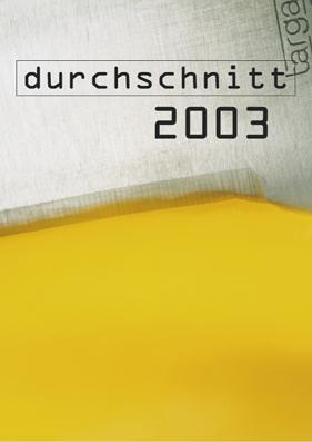 Kal_Durchschnitte_2003_Titel