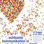 Titelseite achtsame komminikation in arbeit und leben 2017